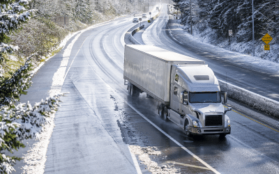 Four Safety Tips for Winter Truck Driving